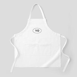 Knitting - YO - Yarn Over BBQ Apron