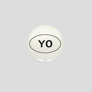 Knitting - YO - Yarn Over Mini Button