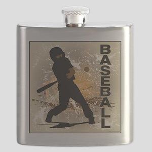 2011 Baseball 10 Flask