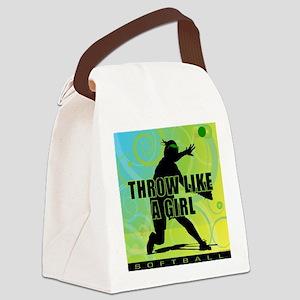 2011 Softball 21 Canvas Lunch Bag