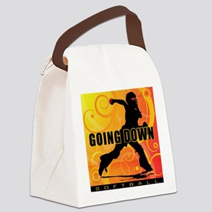 2011 Softball 25 Canvas Lunch Bag