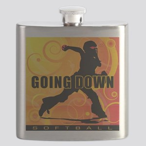 2011 Softball 25 Flask