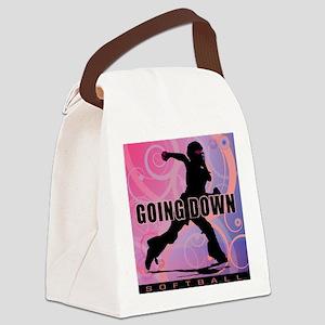 2011 Softball 26 Canvas Lunch Bag