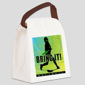 2011 Softball 102 Canvas Lunch Bag