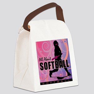 2011 Softball 107 Canvas Lunch Bag