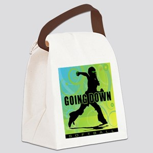 2011 Softball 27 Canvas Lunch Bag