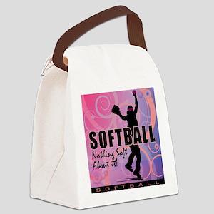 2011 Softball 82 Canvas Lunch Bag
