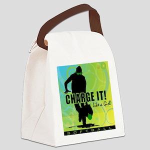 2011 Softball 42 Canvas Lunch Bag