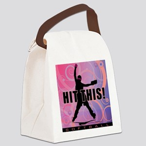2011 Softball 95 Canvas Lunch Bag