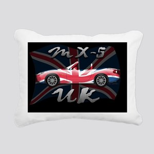 Flag-UK-b-NC Rectangular Canvas Pillow