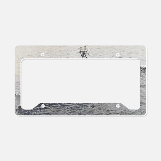 cushing797 large framed print License Plate Holder
