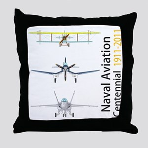 NavCent_Front Throw Pillow