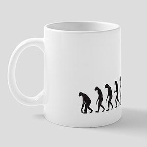 Evolution (ok lets go back) Mug