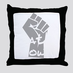 ApathyNow_L Throw Pillow