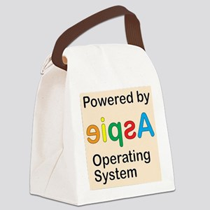 Aspie OS Canvas Lunch Bag