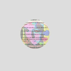 sex_ed_advocate_7goals_backprint Mini Button