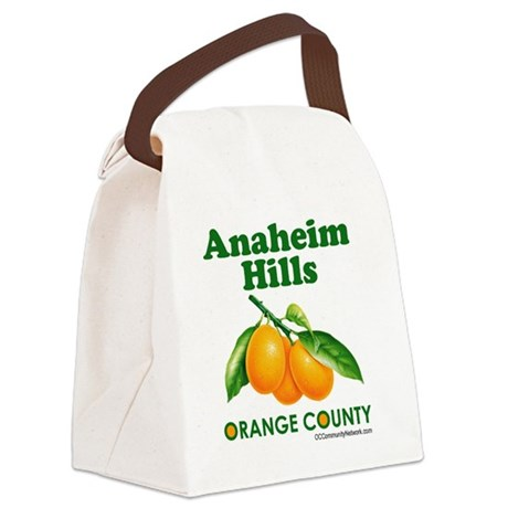 anaheim-hills-design Canvas Lunch Bag