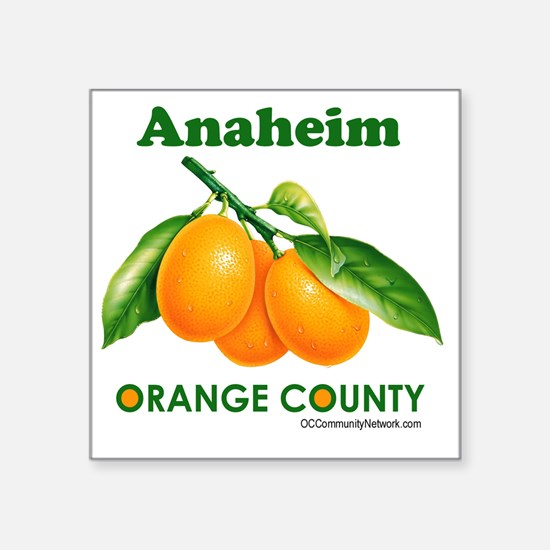 "anaheim-design Square Sticker 3"" x 3"""