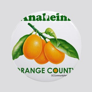 anaheim-design Round Ornament