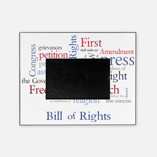 Freedom of Speech: First Amendment Picture Frame