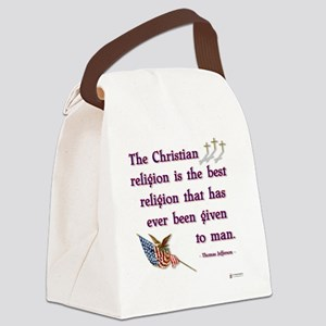 Best Religion Canvas Lunch Bag