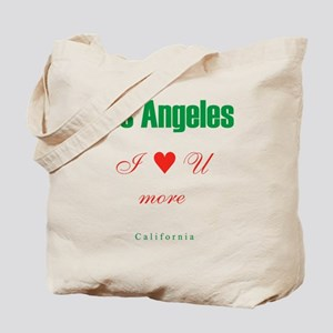 LosAngeles_10x10_ILoveUMore Tote Bag