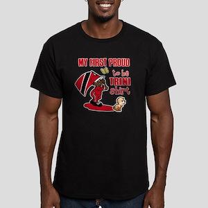 trini Men's Fitted T-Shirt (dark)
