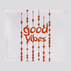 GOOD VIBES 2 Throw Blanket