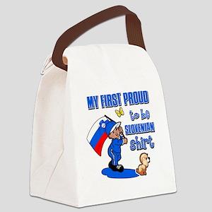 slovenian Canvas Lunch Bag