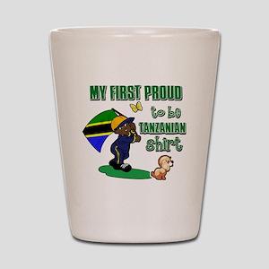 tanzanian Shot Glass