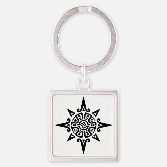 inca-star-glyph Square Keychain