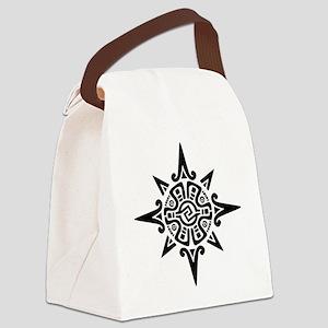 inca-star-glyph Canvas Lunch Bag