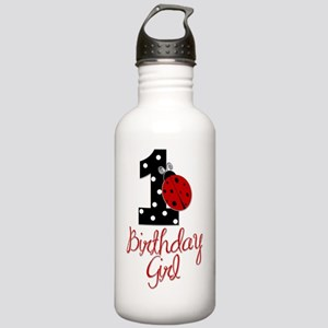 1_ladybug_birthdaygirl Stainless Water Bottle 1.0L