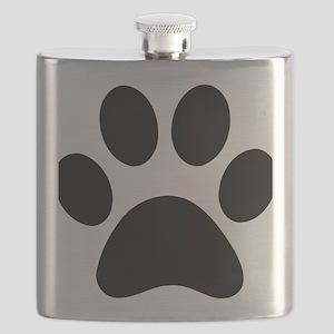 paw-print Flask