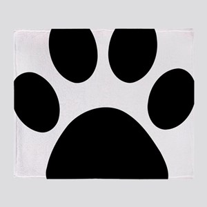paw-print Throw Blanket