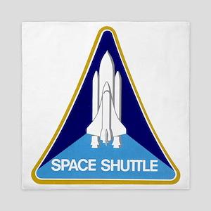 NASA-original-space-shutle-patch Queen Duvet