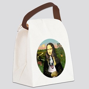 J-ORN-Mona-BullT-9 Canvas Lunch Bag