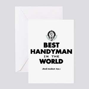 The Best in the World – Handyman Greeting Cards