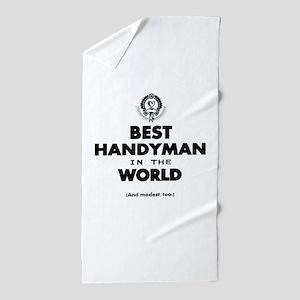 The Best in the World – Handyman Beach Towel