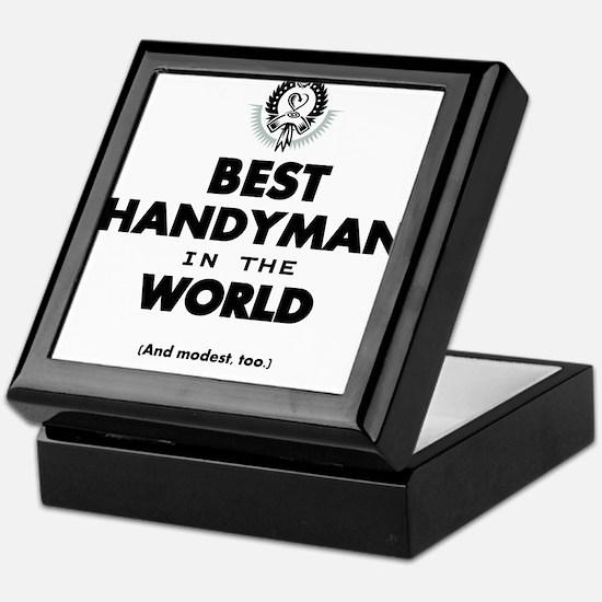 The Best in the World – Handyman Keepsake Box