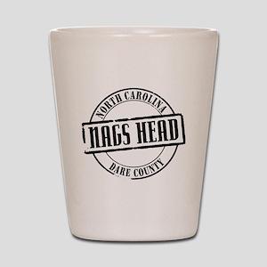 Nags Head Title W Shot Glass