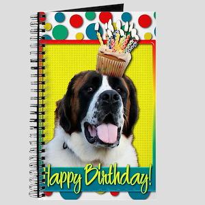 BirthdayCupcakeStBernardMae Journal