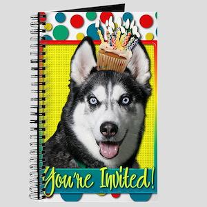 InviteCupcakeSiberianHusky Journal