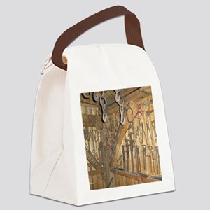 farmequipcal1_jan Canvas Lunch Bag