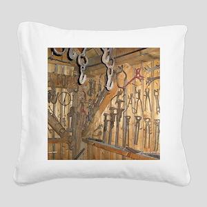 farmequipcal1_jan Square Canvas Pillow
