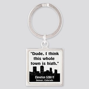 High_Town Square Keychain