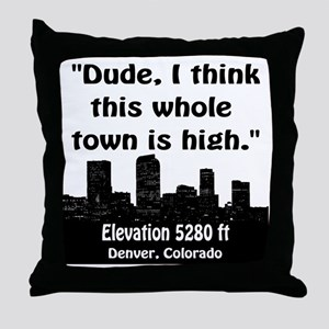 High_Town Throw Pillow
