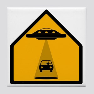 Abduction Zone Tile Coaster