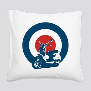 Scooter Square Canvas Pillow