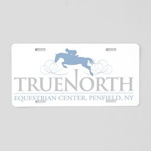 TNECLogo_LightBlue Aluminum License Plate